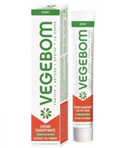 Vegebom - Crème Chauffante Tube - 40 gr