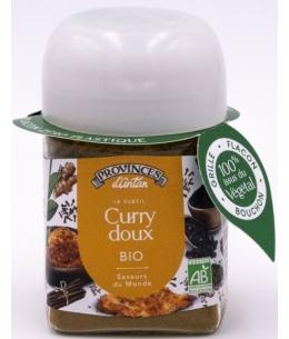 Provence D Antan - Curry bio Recette Indienne pot végétal biodégradable - 40 gr