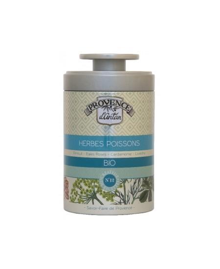 Provence D Antan - Herbes à poisson boite métal - 30 gr