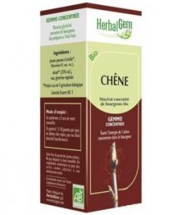 Herbalgem Gemmobase - Chêne bio Flacon compte gouttes - 50 ml