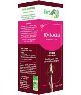 Herbalgem Gemmobase - Feminagem Flacon compte gouttes - 50 ml
