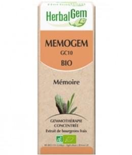 Herbalgem Gemmobase - Mémogem Bio Flacon compte gouttes - 50 ml
