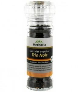 Herbaria - Poivre Trio noir en moulin - 50 gr