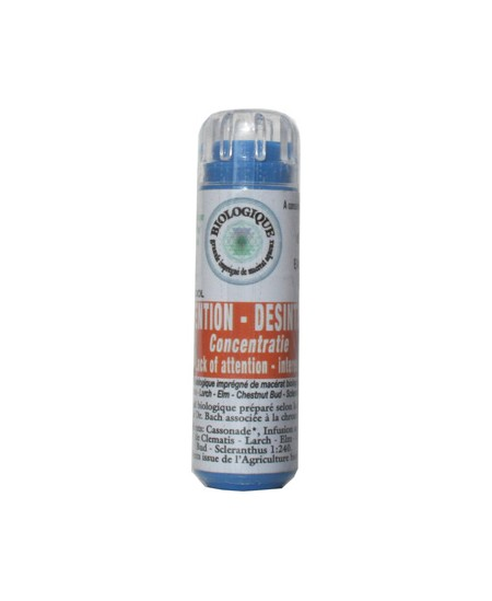 Kosmeo - Complexe Fleurs de bach Inattention et désintérêt - 130 granules Macérat aqueux