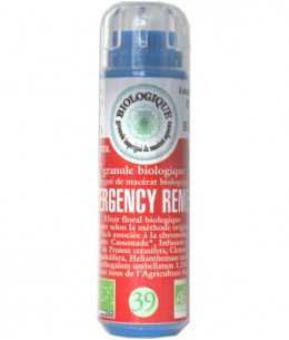 Kosmeo - Complexe Fleurs de bach N° 39 Emergency remedy - 130 granules Macérat aqueux