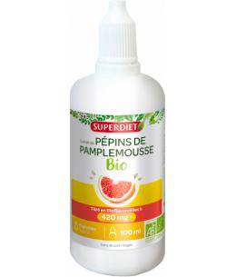 Super Diet - Extrait de Pépins de Pamplemousse Bio - 1600mg bioflavonoïdes pour 100 ml