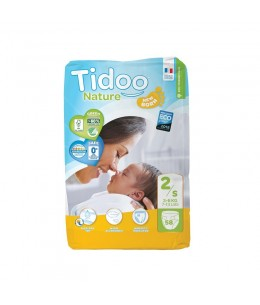 Tidoo - 58 couches T/S - 3/6 kilos