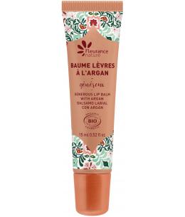 Fleurance Nature - Baume à lèvres généreux à l'Argan bio - 15ml
