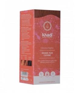 Khadi - Teinture aux Plantes Henné Pur Cuivré - 100 gr
