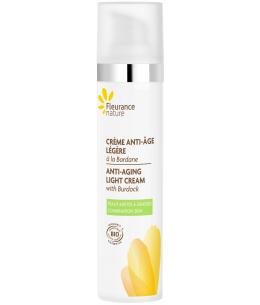 Fleurance Nature - Crème anti âge légère à la Bardane Bio - 40ml