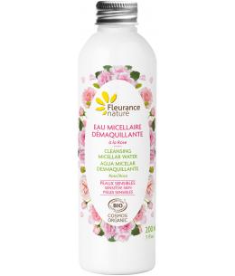 Fleurance Nature - Eau micellaire démaquillante à la rose bio - 200ml