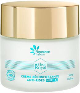 Fleurance Nature - Elixir royal crème réconfortante anti rides nuit - 50ml