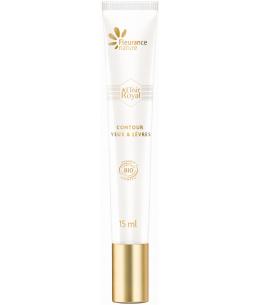 Fleurance Nature - Elixir royal soin contour des yeux et lèvres anti rides - 15ml