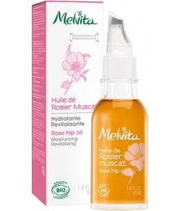 Melvita - Huile de rosier muscat Hydratante Revitalisante - 50 ml