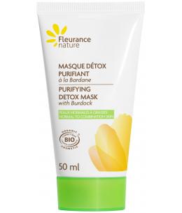 Fleurance Nature - Masque détox purifiant à la Bardane Bio - 50ml