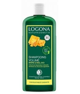 Logona - Shampoing volumateur à la bière et au miel - 250 ml