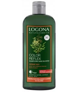 Logona - Shampoing reflets hénné auburn - 250 ml