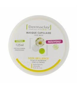 Dermaclay  - Masque Capillaire Soin Brillance éclat et nutrition - 125 ml