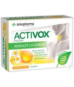 Arkopharma - Activox Miel Citron - 24 pastilles