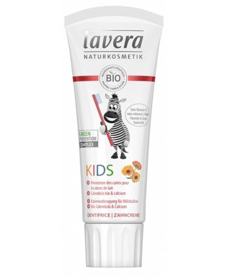 Lavera - Dentifrice Enfant Calendula bio et Calcium - 75 ml