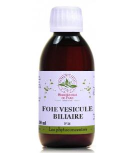 Herboristerie de Paris - Phyto concentré Foie Vésicule Biliaire - 200ml
