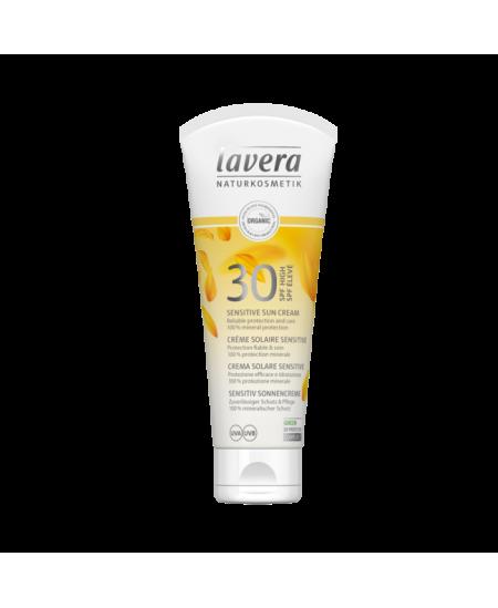 Lavera - Crème Solaire Peaux Sensibles SPF 30 - 75 ml