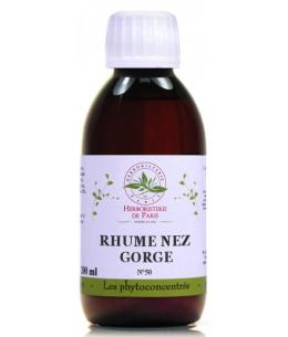 Herboristerie de Paris - Phyto concentré Rhume Nez Gorge - 200ml