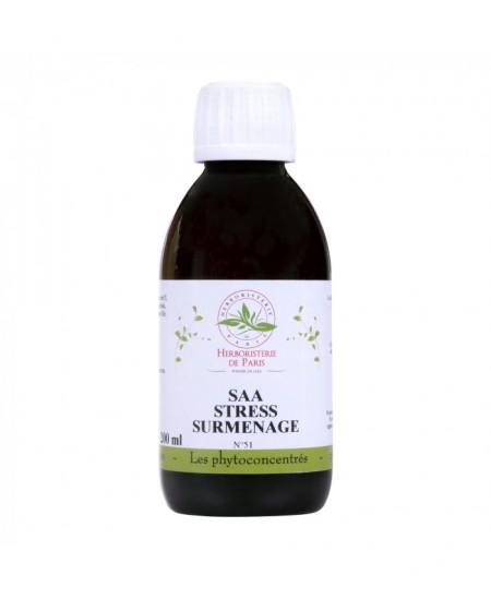Herboristerie de Paris - Phyto concentré SAA Stress Surmenage - 200ml