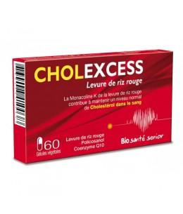 Bio Santé Sénior - Cholexcess Levure de riz rouge de 60 gélules vegetales