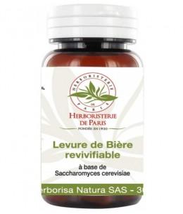 Herboristerie de Paris - Levure de bière revivifiable 150 gélules végétales de 400mg