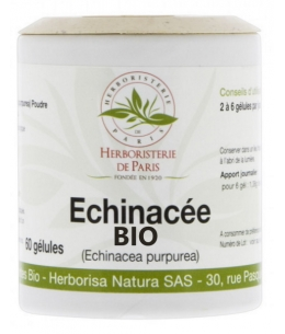 Herboristerie de Paris - Echinacée Bio 230mg - 60 gélules