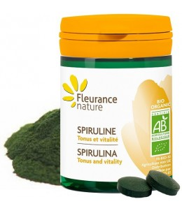 Fleurance Nature - Spiruline bio - 60 comprimés