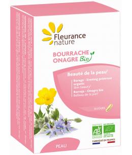 Fleurance Nature - Bourrache Onagre bio - 60 gélules