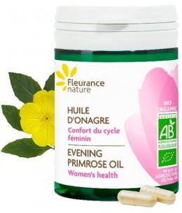 Fleurance Nature - Onagre bio - 40 gélules