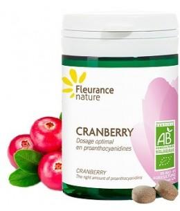 Fleurance Nature - Cranberry bio - 60 comprimés