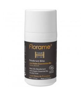 Florame - Déodorant bille bio homme - 50 ml