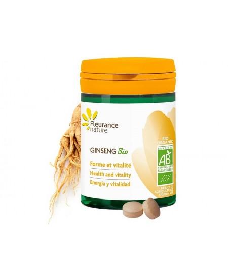 Fleurance Nature - Ginseng tonique Bio - 60 comprimés