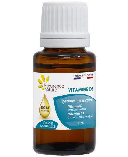 Fleurance Nature - Vitamine D3 - 15ml