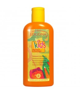 Logona - Kids Shampoing + Gel douche extra fruité - 200 ml