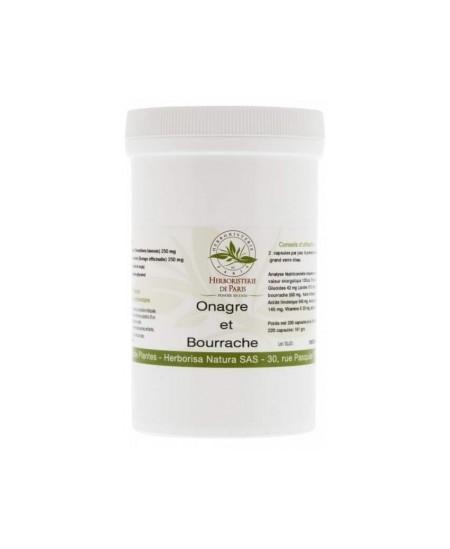 Herboristerie de Paris - Onagre Bourrache Vitamine E - 220 capsules
