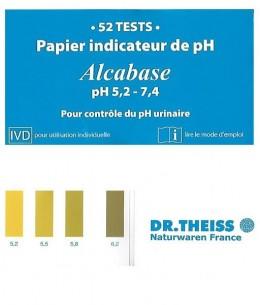 Dr.Theiss - Papier indicateur pH urinaire - Carnet de 52 tests