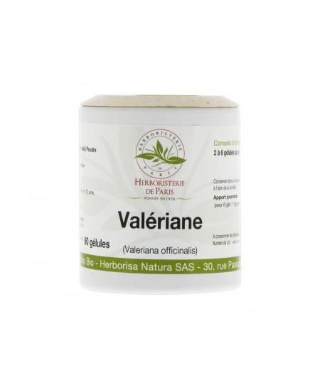 Herboristerie de Paris - Valériane racine bio 250mg - 60 Gélules