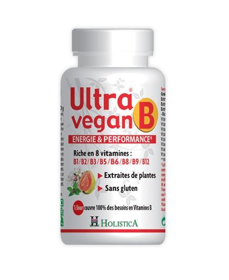 Holistica – Ultra Vegan B – 30 comprimés