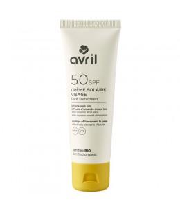 Avril - Crème solaire visage SPF 50 – 50 ml