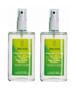 Weleda - Duo Déodorant spray Citrus – 2 x 100 ml