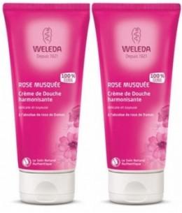 Weleda - Duo crèmes de douche à la Rose Musquée - 2 x 200 ml
