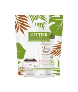 Cattier - Kit Hiver duo ultra nourrissant mini beurre de karité et crème mains