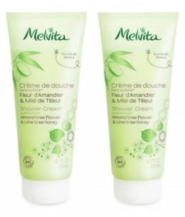 Melvita - Duo Crème de douche fleur d'amandier et miel de tilleul – 2 x 200 ml