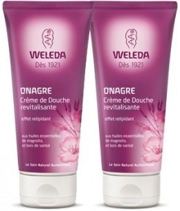 Weleda - Duo Crème de Douche revitalisante à l'Onagre pour peaux matures - 2 x 200 ml
