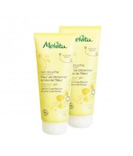 Melvita - Duo Gel douche fleur de citronnier et miel de tilleul - 2 x 200 ml